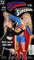 AlisaKiss: Supergirl Catfight by KustomKomiks