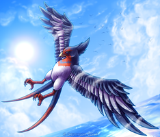 Commission: Swellow by Deltheor