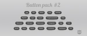 Webdesign buttons pack 2 by synysternl