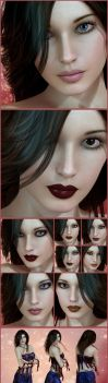 For Sale on Deviant: Monica for V4 by ann0314