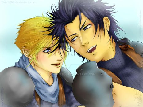Zack x Cloud: You bring me happiness by TwinElf66
