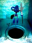 Water tank inspection by Pearllight180