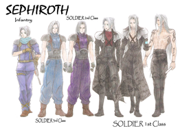 Sephiroth - Growing up by guineapiggin