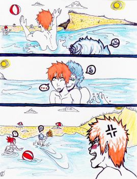 GrimmIchi Summer: Colored by minsra