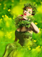 Fairy of green by Alosa