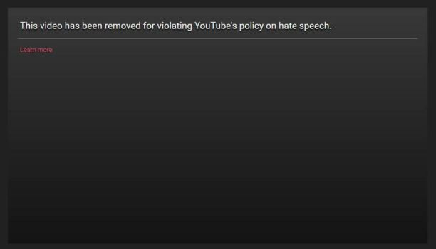 YouTube is Violating Free Speech  by OddGarfield