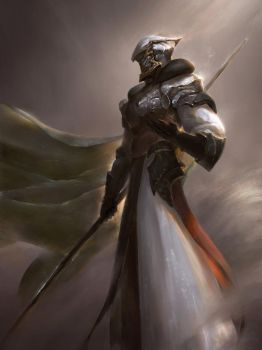 The High-Knight. by peterskore