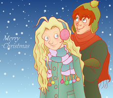 George x Luna: Merry Giftmas by Weasley-Detectives