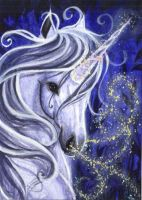 ACEO Divine Breath by DawnUnicorn