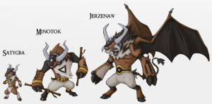 Mythical Bovines by Either-Art