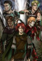 Kvothe and the Mercenaries by Celtilia