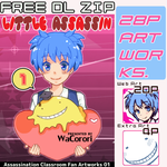 [Free DL ZIP] Little Assassin 01 by WaCorori