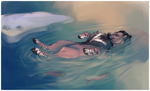 Swimming With the Fishies by Kieath