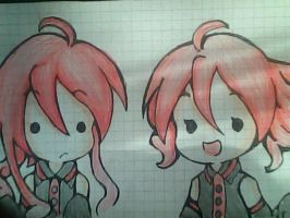 Teto and Ted Kasane by Ted0401