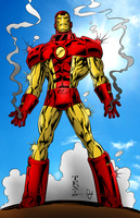 Neo-Classic Iron Man by portfan
