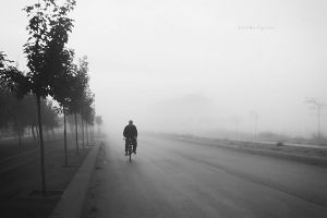 Another foggy day IV by pigarot