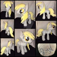 MLP 13 inch Derpy plushie - BronyCon 2016 by RubioWolf