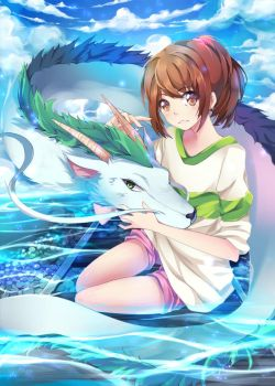 Spirited Away by SquChan