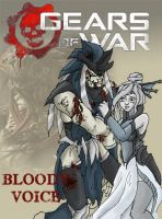 GOW: Bloody voice by TeaDarkA
