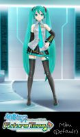 Hatsune Miku: Project DIVA Future Tone: Miku by xCrofty