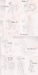 Silent Ponyville: Concepts by aguantegrimtales