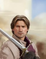 A study of Jaime Lannister by Lasthielli