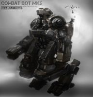 Combat Bot mk5 by alexdrummo