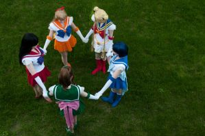 Sailor Moon: Power Together by AydenGracePhoto
