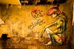 Goerls in Leipzig - Graffiti in a Lost Place by MakisWorld