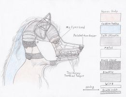 Costume Head Study by TheCostumeArchive