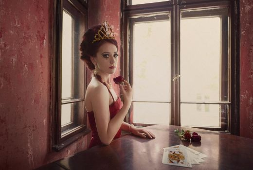 Queen of Diamonds by corsuse