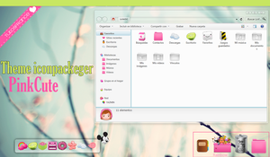 Tema iconpackeger Pink by Francebeauty