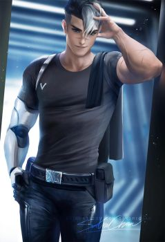 shiro Voltron by sakimichan