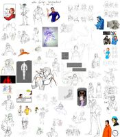 the GIANT sketchdump by Toxandreev