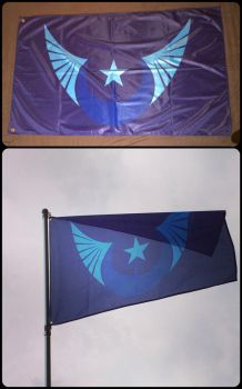 New Lunar Republic Flag by ojim-Designs