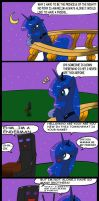 Luna and is new friends by CIRILIKO