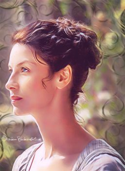 -Claire Fraser- by Orchidea-Blu
