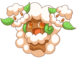 Whimsicott and Cottonee