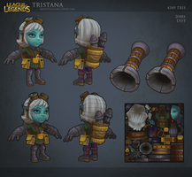 League of Legends: Tristana 2 by MissMaddyTaylor