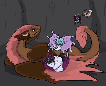 Flight Rising SweetPea Chilling by wingedhatchling
