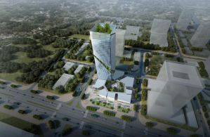 Competition: Imron Financial Tower (2nd Place) 05 by Wittermark