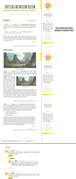 [1304] YELLOW MELLOW // FREE BLOGGER TEMPLATE by grabarze