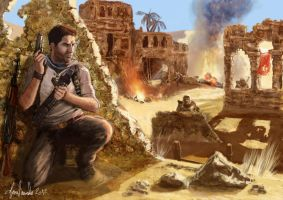 Uncharted fan art concept. by padraven
