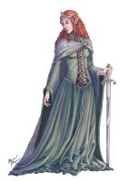Medieval Sidhe by AlainaM