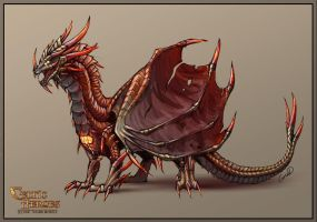 Dragon King 2 by FeraCursed