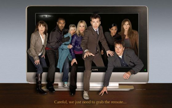 Doctor Who, Ten and Friends TV by macfran