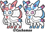 Sylveon Shimeji Project Reveal [BE PART OF IT!] by Cachomon