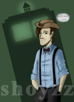 11th Doctor - Hats Are Cool by ShoyzzFanArt