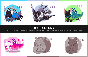 Mythrille adopts: CLOSED by KngCorvidae