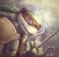 Raphael tmnt color by Fpeniche